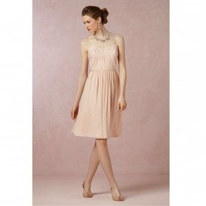 d89c01755e2d8 Anthropologie Dresses | Bhldn Hitherto Giselle Blush Pink Dress Size ...
